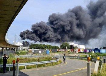 انفجار مجمع كيماوي ألماني