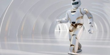 تقديم روبوت بشري في الصين