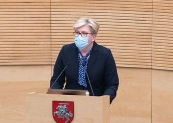 رئيسة وزراء ليتوانيا: أوكرانيا لديها أكثر اتفاقيات الشراكة طموحًا مع الاتحاد الأوروبي