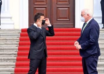 زيلينسكي وشتاينماير يلتقيان في برلين