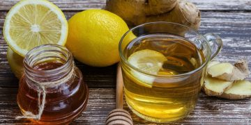 قناع الليمون لتبييض الوجه