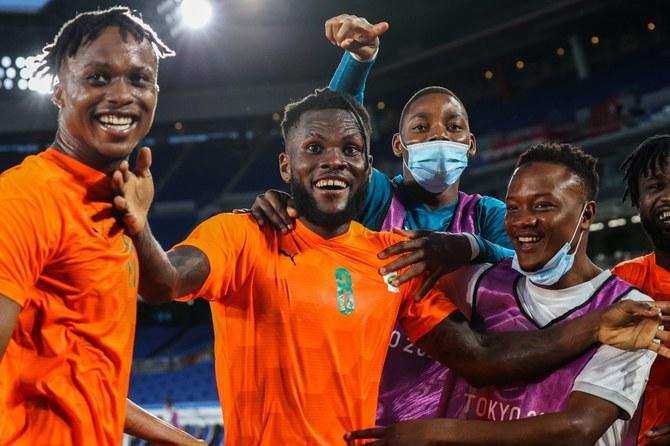 لاعبو المنتخب السعودية يخسرون 2-1 أمام ساحل العاج في افتتاحيات اولمبياد طوكيو
