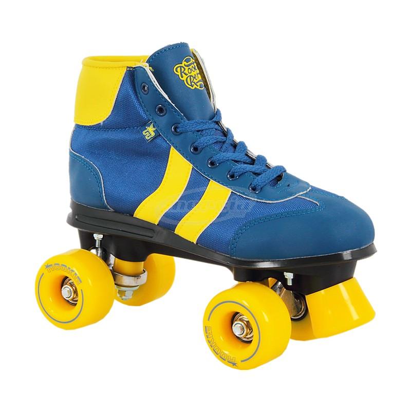 39edd3512ca Rookie Retro Roller Skates – Blue / Yellow – Ukskate