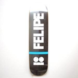 """Plan B Blk Ice Felipe Onyx Pro Deck - 7.75"""""""