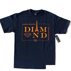 Diamond Paris T-Shirt Navy