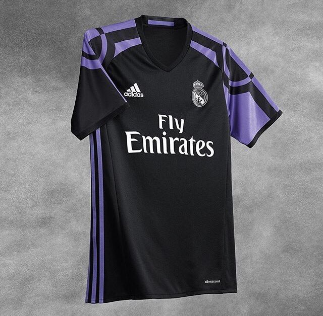 Real Madrid 2016/17 Third Kit Unveiled