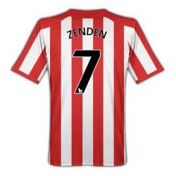 2010-11 Sunderland Umbro Home Shirt (Zenden 7)