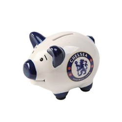 Chelsea FC Piggy Bank Money Box