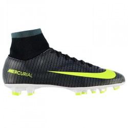 Nike Mercurial Victory CR FG Mens Football Boots (Black-Volt)