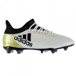Adidas X 16.2 FG Mens Football Boots (White-Gold)