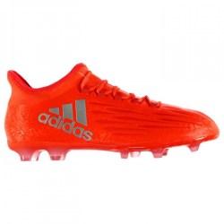 Adidas X 16.2 FG Mens Football Boots (Solar Red)