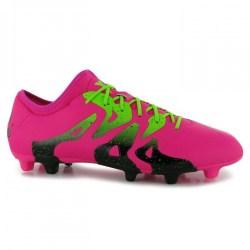 Adidas X 15.2 FG Mens Football Boots (Shock Pink)