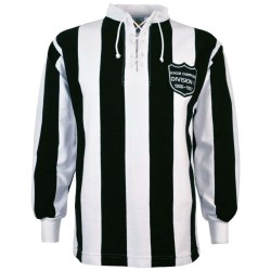 Newcastle United 1927 League Champions Retro Football Shirt