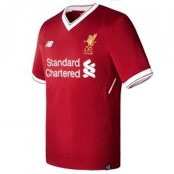 2017-2018 Liverpool Home Football Shirt
