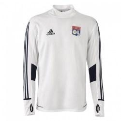 2017-2018 Lyon Adidas Training Top (White)