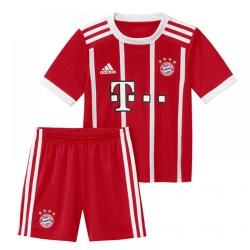 2017-2018 Bayern Munich Adidas Home Little Boys Mini Kit
