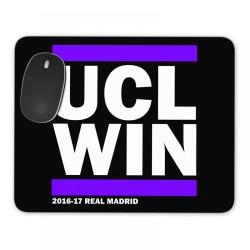 Real Madrid UCL Winners MousePad (Black)
