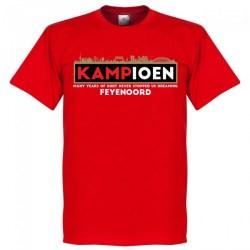 Feyenoord Kampioen T-Shirt (red)