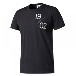 2017-2018 Real Madrid Adidas Graphic Tee (Black)