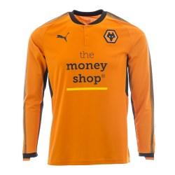 2017-2018 Wolves Puma Home Long Sleeve Shirt