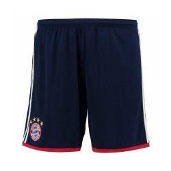 2017-2018 Bayern Munich Adidas Away Shorts (Navy)