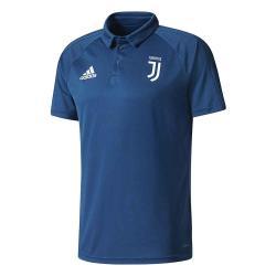 2017-2018 Juventus Adidas Polo Shirt (Blue Night)