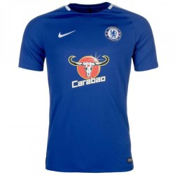 2017-2018 Chelsea Nike Training Shirt (Blue)