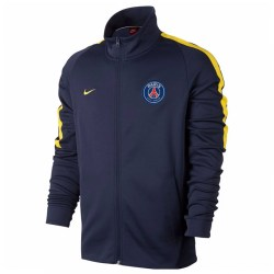 2017-2018 PSG Nike Authentic Franchise Jacket (Navy)