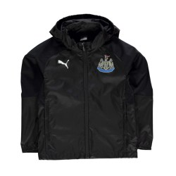 2017-2018 Newcastle Puma Rain Jacket (Black) - Kids
