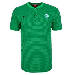 2016-2017 Werder Bremen Nike Authentic Grand Slam Polo Shirt (Green)