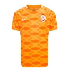 2017-2018 Galatasaray Nike Pre-Match Training Shirt (Orange)