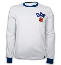 DDR Away 1970's Long Sleeve Retro Shirt 100% cotton
