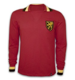 Belgium 1960's Long Sleeve Retro Shirt 100% cotton