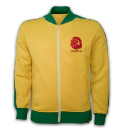 Cameroon 1980's Retro Jacket polyester / cotton