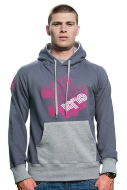 Mens Copa del Mundo Hooded Sweater // Dark Grey 70% cotton/30% p