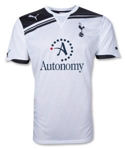 2010-11 Tottenham Puma Home Shirt (Pienaar 40)
