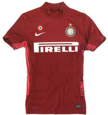 2011-12 Inter Milan Home Nike Goalkeeper Shirt (Red)