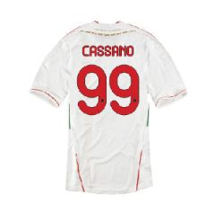 2011-12 AC Milan Away Shirt (Cassano 99)