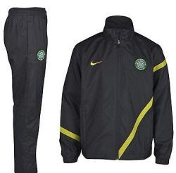 2011-12 Celtic Nike Sideline Tracksuit (Black)