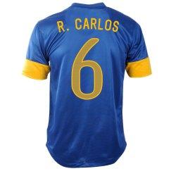 2012-13 Brazil Nike Away Shirt (R.Carlos 6)