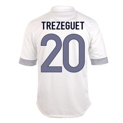 2012-13 France Euro 2012 Away (Trezeguet 20)