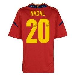 2012-13 Spain Euro 2012 Home Shirt (Nadal 20)