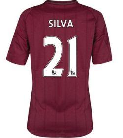 2012-13 Man City Womens Away Shirt (David Silva 21)