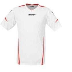 Uhlsport Team SS Shirt (white-red)