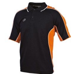 Prostar Atlas Polo Shirt (black-orange)