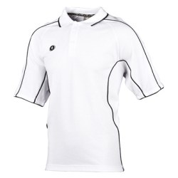 Prostar Atlas Polo Shirt (white-black)