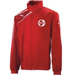 United Football Academy Spirit Rain Jacket (Red) - Kids
