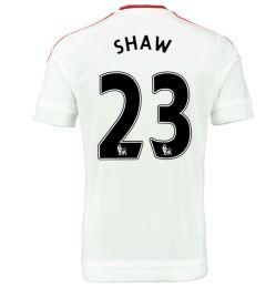 2015-2016 Man Utd Away Shirt (Shaw 23) - Kids
