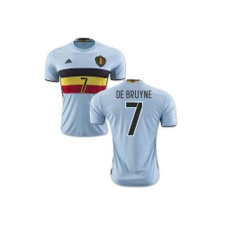 2016-2017 Belgium Away Shirt (De Bruyne 7)