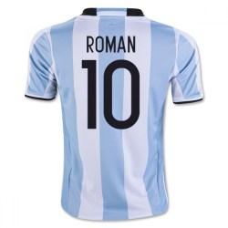 2016-17 Argentina Home Shirt (Roman 10) - Kids